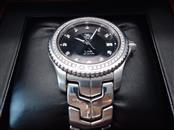 TAG HEUER Gent's Wristwatch WJ1117-0 LINK WITH DIAMOND DIAL